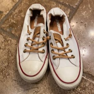 Converse slip on white sneakers 6.5 All Star